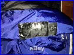 Marmot Helium MemBrain 15 Degree Sleeping Bag Cobalt Blue Long Left-Zip #20020