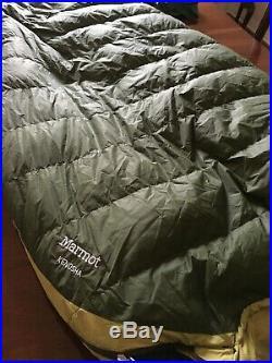 Marmot Kenosha 650 down 20 deg sleeping bag
