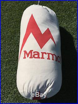 Marmot Lithium 0 degree sleeping bag excellent condition