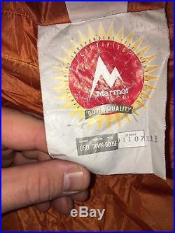 Marmot Lithium Long 850 Down Sleeping Bag 0 Degree Fahrenheit