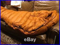 Marmot Lithium long 0 degree 900 fill goose down sleeping bag