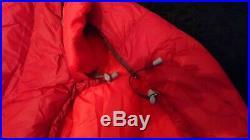 Marmot Micron 40 Sleeping Bag, 650 Fill Goose Down, Sienna Red/tomato 650 Grams