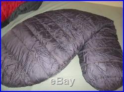 Marmot Mountain Works Gopher Gore-tex Goose Down Sleeping Bag Long USA Vintage