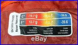 Marmot Never Summer Sleeping Bag 0 Degree Down Long/LZ /45643/