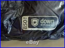 Marmot Phase 20 850fp Goose Down Sleeping Bag Long Left