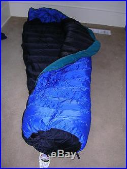 Marmot Pinnacle 775 Goose Down Fill Sleeping Bag with Gore/ DRYLOFT Shell LONG