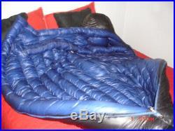 Marmot Plasma 15 degree 900 fill goose down sleeping bag, OVERFILLED