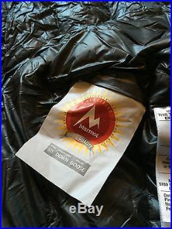 Marmot Plasma 30 degree Sleeping Bag 875 Down fill