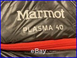 Marmot Plasma Ultralight Sleeping Bag 875+ Down-size Regular withTags-barely used