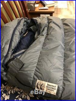 Marmot Pocket Gopher Long Sleeping Bag Gore-Tex Shell -10F