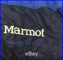 Marmot SAWTOOTH / 15ºF MEN'S Down Sleeping Bag Long