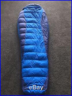 Marmot Sawtooth, 15F, Reg, Right-Zip, Down Sleeping Bag