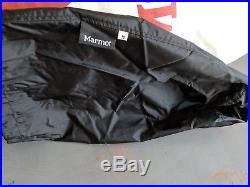 Marmot Sawtooth Long Extra Wide RH Zip, 15F, 650 Fill Down Sleeping Bag, Blue