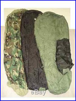 Military Sleeping System and Poncho Liner