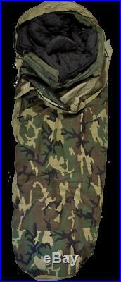 Military Surplus Military Modular 4 Piece Sleeping System With 8465-01-445-6274