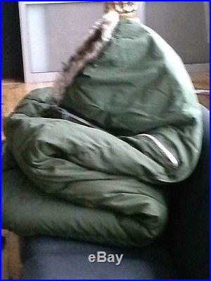 Military down sleeping bag survival army airforce usmc evacuation casualty ecw
