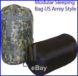 Modular Sleeping Bag US Army Military Style ACU Blanket Sleep System Camping