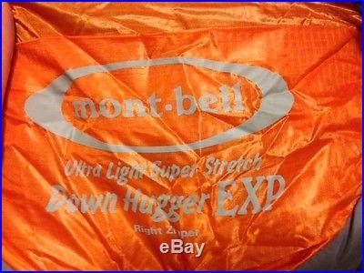 MontBell U. L. Super Stretch Down EXP Hugger Sleeping Bag -20 Degree Down