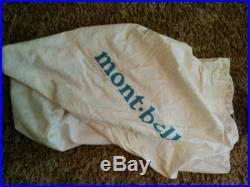MontBell Ultra Light Spiral Hugger #1 Sleeping Bag 15 Degree 800 Fill Down Long