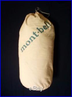 MontBell Ultra Light Super Stretch Down Hugger #4 Long Sleeping bag