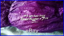 Mont Bell Alpine #7 down hugger Sleeping Bag- Mountain camping quilt equipment