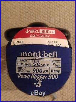 Mont Bell Down Hugger 900 #5 Sleeping Bag