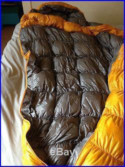 Mont Bell UL SS Down Hugger 800 #2 25 Degree Sleeping Bag, Right Zip