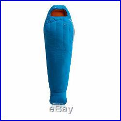 Montane Unisex Minimus Sleeping Bag Blue Sports Outdoors Half Zip Hooded Warm
