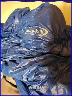 Montbell Down Hugger 650 #5 Sleeping Bag 37 Degree 3c Ultralight Bag Backpacking