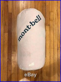 Montbell Down Hugger Super Spiral #1 (15 degree) $80 Off