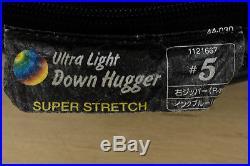 Montbell Super Stretch Down Hugger #5 Ultralight Backpacking Sleeping Bag 178cm