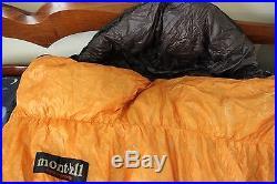 Montbell Ultra Light Down Hugger #2 Long (right zipper) sleeping bag
