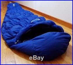 Montbell Ultra light Down Spiral Hugger #5 Sleeping bag, 459g, 40F, Excellent