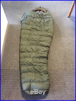 Moonstone Goose Down High Loft Mummy Sleeping Bag Olive Drab Green
