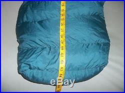 Moonstone Muir Trail Regular 30F Goose Down Sleeping Bag Vintage Soft Teal