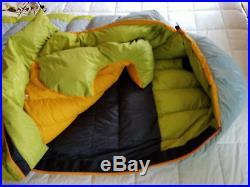 Moonstone Pacific Crest Trail II 800 Long Left 10f Rated Down Sleeping Bag Euc