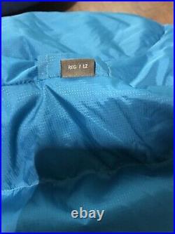 Mountain Equipment Classic 500 Down Sleeping Bag Colour Blue Size Regular