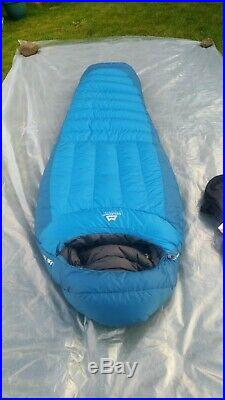 Mountain Equipment Glacier 750 Down Insulated Sleeping Bag Superb
