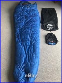 Mountain Equipment Glacier 750 Down Sleeping Bag Blue XL