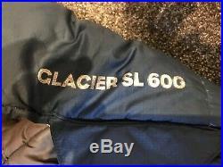 Mountain Equipment Glacier SL 600 Reg Down Sleeping Bag Red