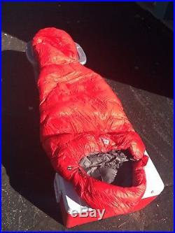 Mountain Equipment Helium 400 Sleeping Bag Backpacking Down 23 Degree