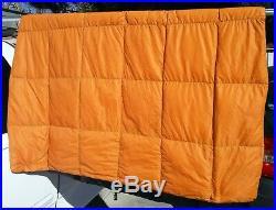 Mountain Equipment Helium 40 Pure Duck Down Quilt / Sleeping Bag Cosmos Blue