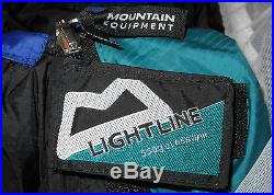 Mountain Equipment Lightline Sleeping Bag Rhd Zip Camping Winter Sleeping Bag