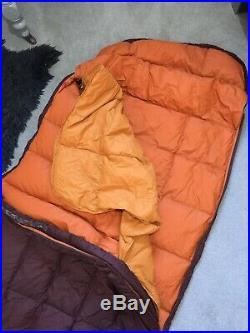 Mountain Equipment SPELLBINDER Reg Down Sleeping Bag Brown