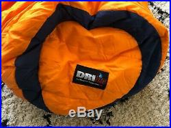 Mountain Equipment Snowline 750 STD LZ down sleeping bag (right hand zip)