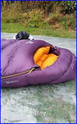 Mountain Equipment Women's Helium 800 Down Ultralight 4-season Sleeping Bag