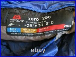 Mountain Equipment Xero / Helium 250 Down Sleeping Bag