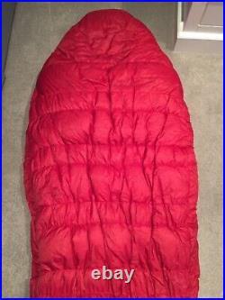Mountain Equipment Xeros Down Sleeping Bag Colour Red