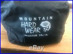 Mountain Hardware Phantom 15deg Down Sleeping Bag