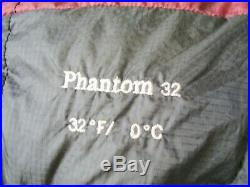 Mountain Hardware Phantom 32 800FP Down Superlight Sleeping Bag Reg RZ